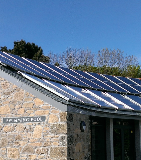 Solar PV for swimming pool