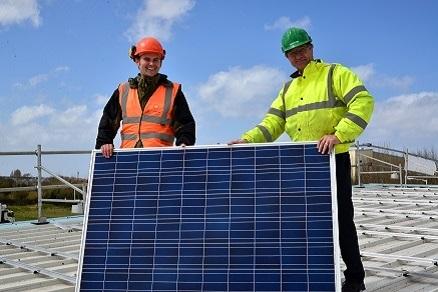 David Salisbury Conservatories 150kWp Solar PV Roof Mount Installation